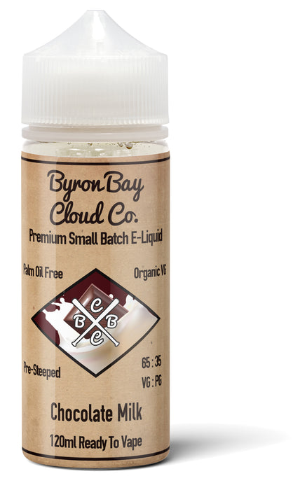 Chocolate Milk E juice Byron Bay Cloud Co Best Price Australia Brisbane