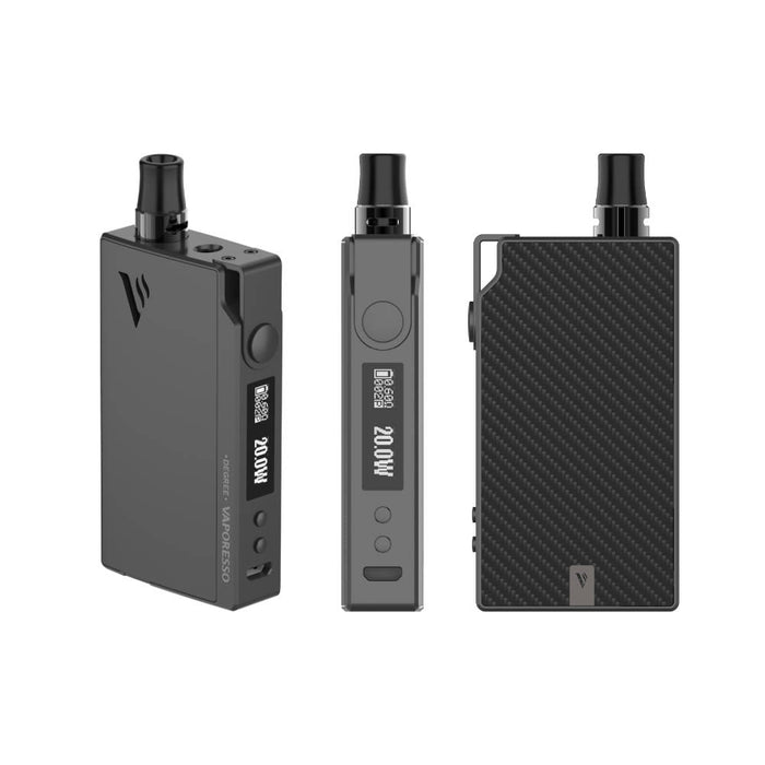 vaporesso degree pod black carbon fibre-vaperelated-australia