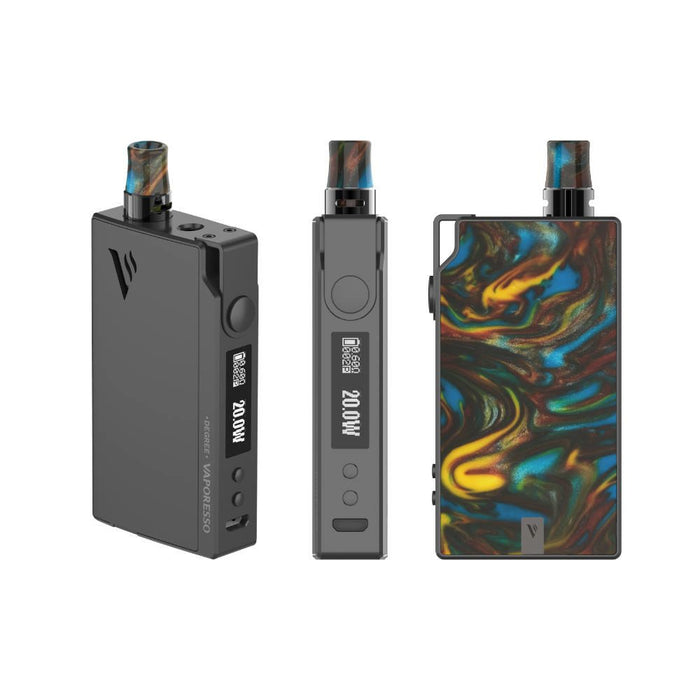 vaporesso degree pod starter kit in lava-vaperelated-brisbane