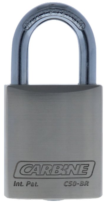 Carbine 50mm Brass Padlock