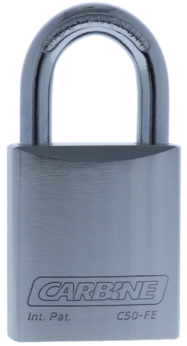 Carbine 50mm Steel Padlock