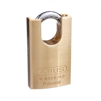 Abus commercial padlock 83/45 closed shackle