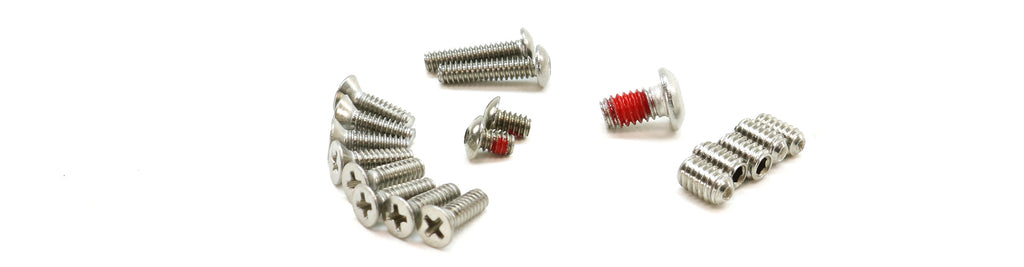 Complete Screw Set, FEM249 / M60 / PKM