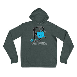Purrformance Under Pressure Unisex hoodie --- *Animal Rescue Fundraiser""