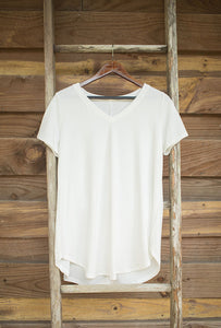 Everyday Relaxed V-Neck Tee
