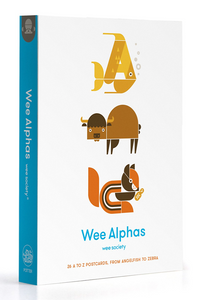 Wee Alphas: 26 A to Z Postcards, from Angelfish to Zebra