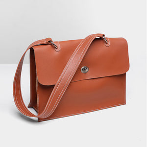 Soft Split leather big bag moooden