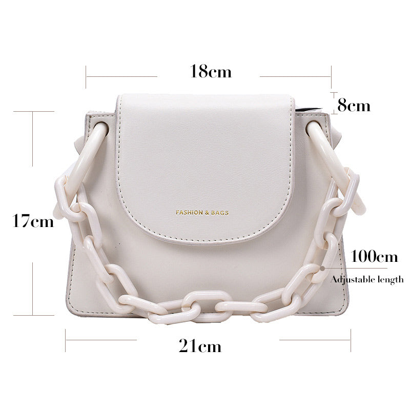 Chain Pack PU Bag Moooden