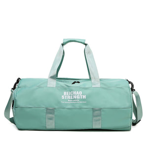 Yoga bag dry wet isolation Tiffany green moooden Bag