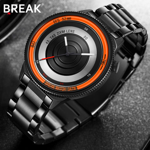 unique series band gift photographer products brand casual chendras men quartz luxury watch creative rubber fashion sport break watches