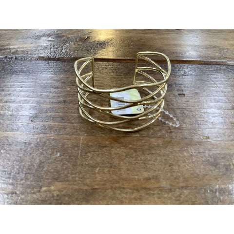 3 Layer Gold Bangle - Little Prairie Girl