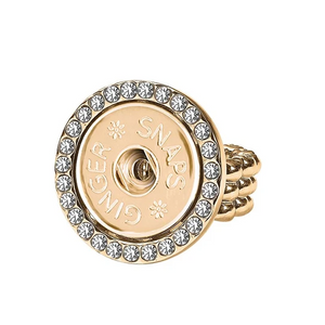 Stretch Gingersnap Bling Ring - Little Prairie Girl