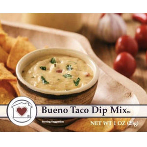 Beuno taco dip mix - Little Prairie Girl