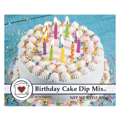 Birthday Cake Dip - Little Prairie Girl