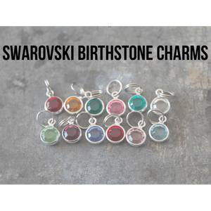 Birthstone Swarovski charms - Little Prairie Girl