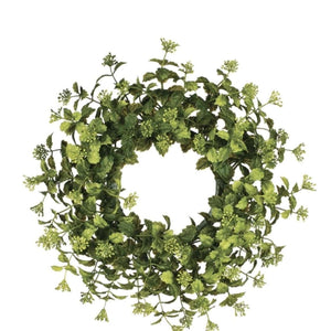Boxwood Wreath - Little Prairie Girl
