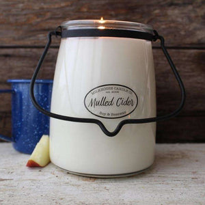 Butter Jar Candle 22 oz. - Mulled Cider - Little Prairie Girl