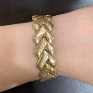 Chevron Metal Bracelets - Little Prairie Girl