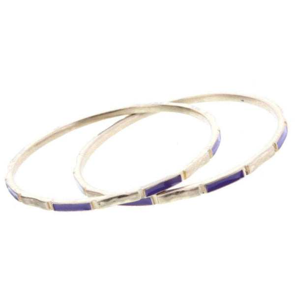 Color Block Gold Bangle - Little Prairie Girl