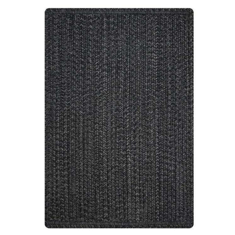 "Ebony rectangle rug 20""x30"""