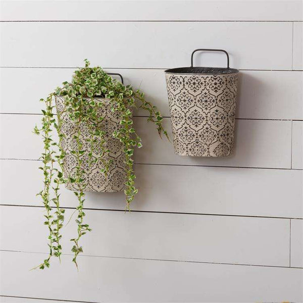 Embossed Wall Planter - Little Prairie Girl