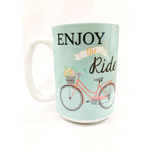 Enjoy the ride mug - Little Prairie Girl