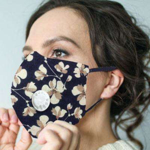 Face Masks with Ventilation Cap & Filter - Little Prairie Girl
