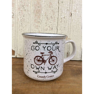 Go your own way Grundy Center mug - Little Prairie Girl