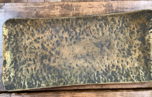Hammered metal tray - Little Prairie Girl