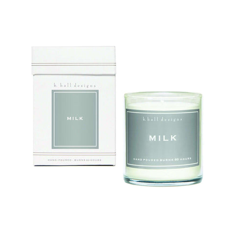 Milk jar candle - Little Prairie Girl