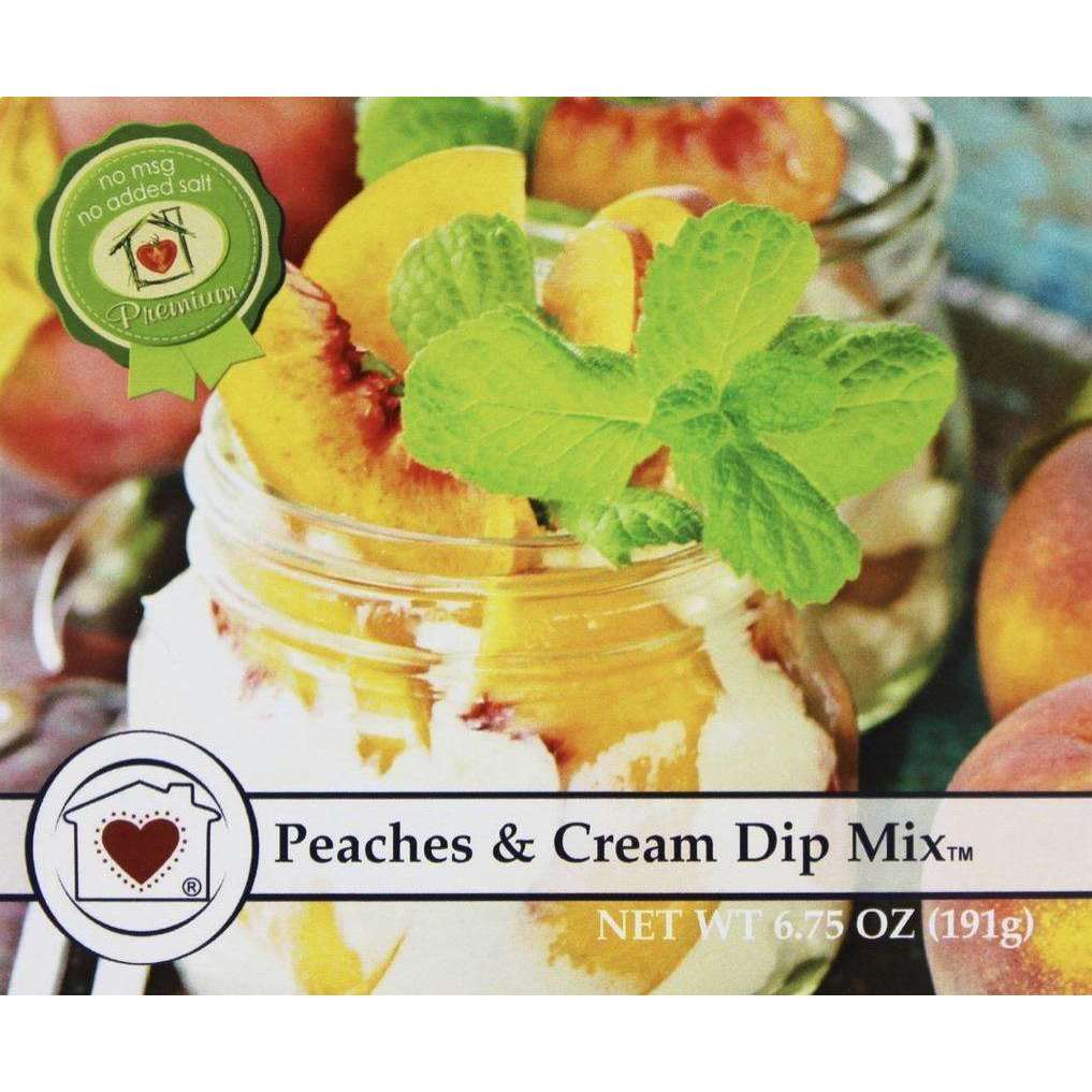 Peaches & Cream Dip Mix - Little Prairie Girl