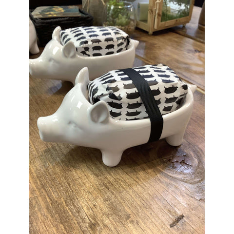 Pig Soap Dish - Little Prairie Girl