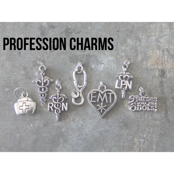 Profession charms - Little Prairie Girl