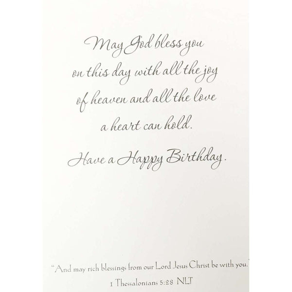 Pure in heart birthday card - Little Prairie Girl