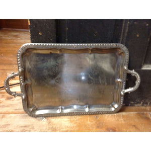 Silver tray large - Little Prairie Girl