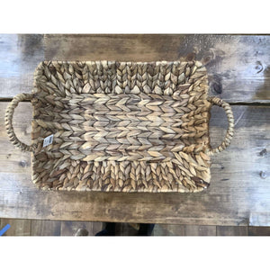 Small Basketweave tray - Little Prairie Girl