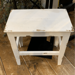 Small Wooden Stool - Little Prairie Girl