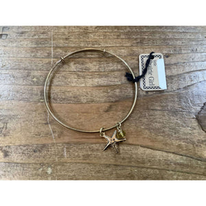 Starfish Bangle Bracelet - Little Prairie Girl
