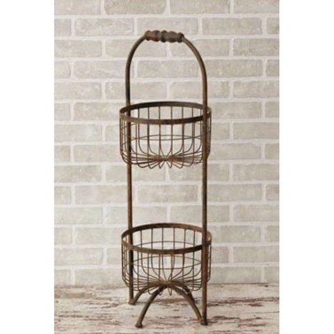 tiered metal stand - Little Prairie Girl