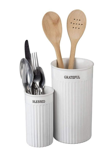 Utensil Holder - Little Prairie Girl