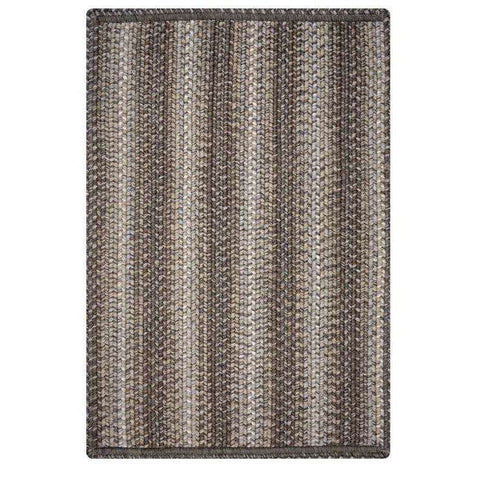"Wood grain rectangle rug 20""x30"" - Little Prairie Girl"