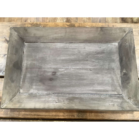 Wood Rectangle Tray - Little Prairie Girl