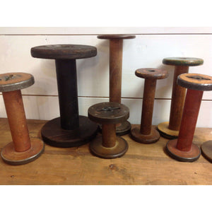 Wooden spools - Little Prairie Girl