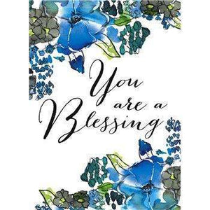 You are a blessing thank you card - Little Prairie Girl