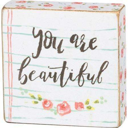 You are beautiful - Little Prairie Girl