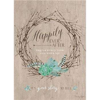 Your story to tell wedding card - Little Prairie Girl