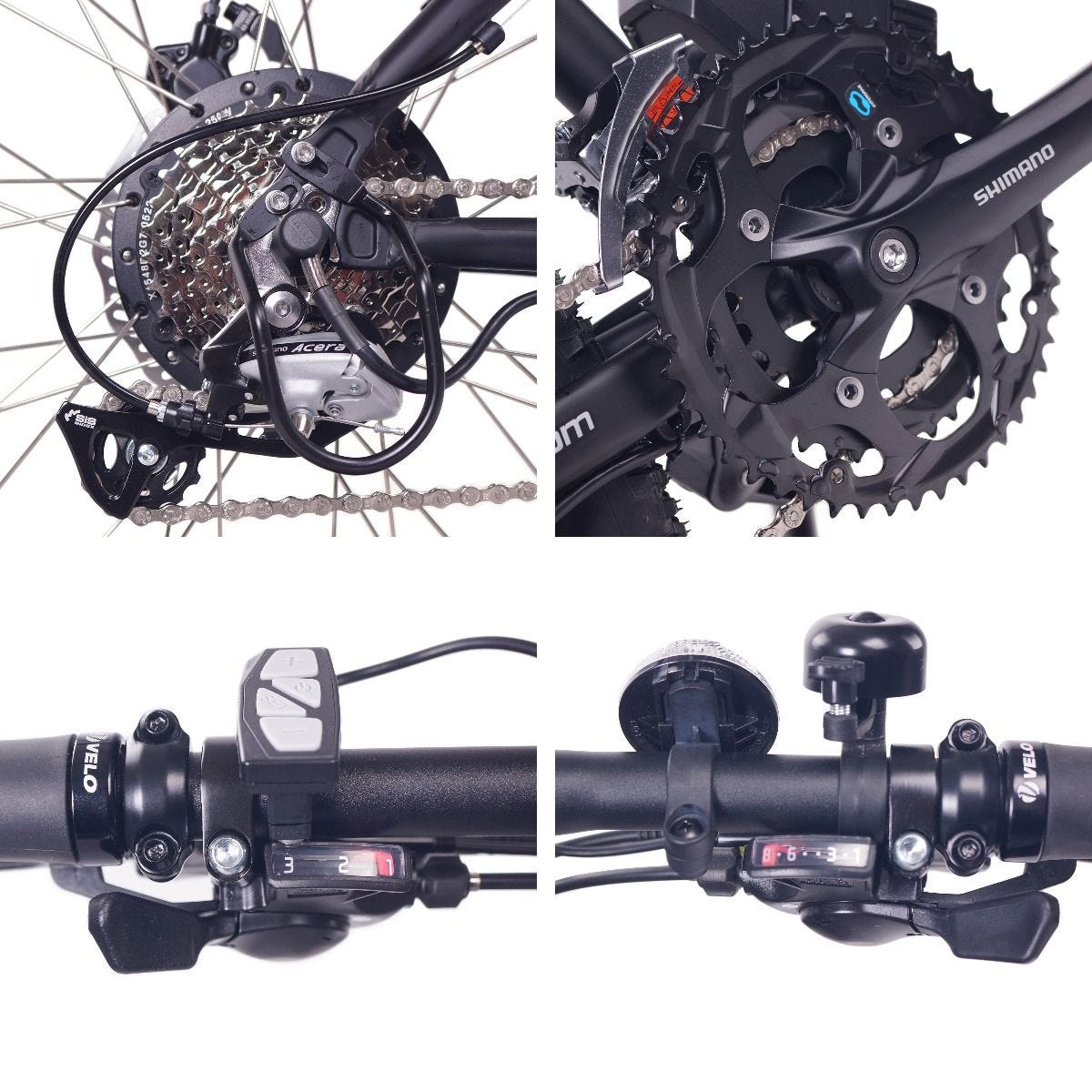 NCM Moscow Plus ebike components