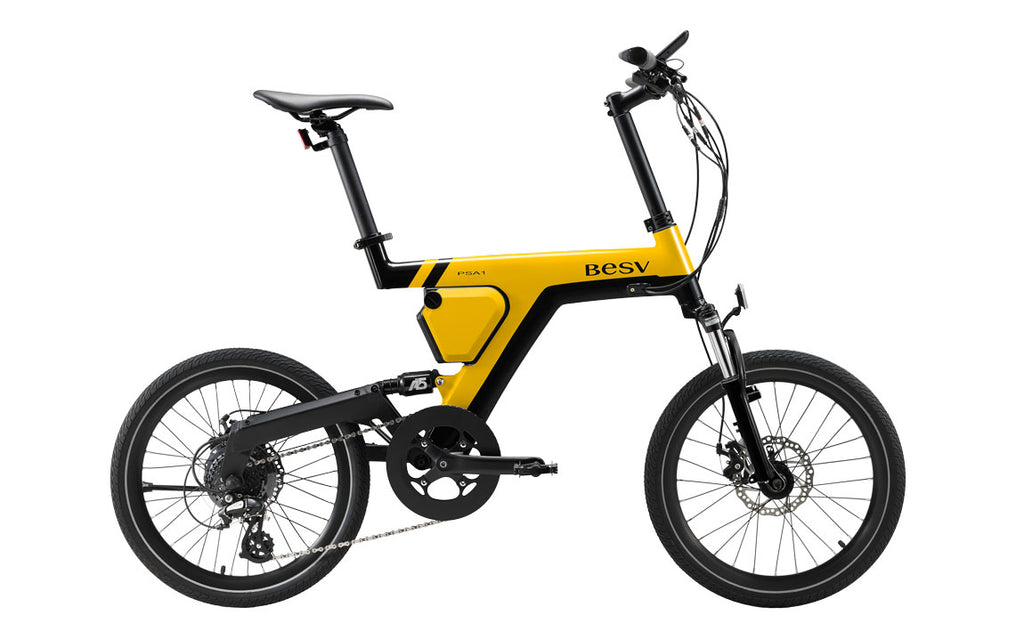 BESV PSA1 e bike yellow