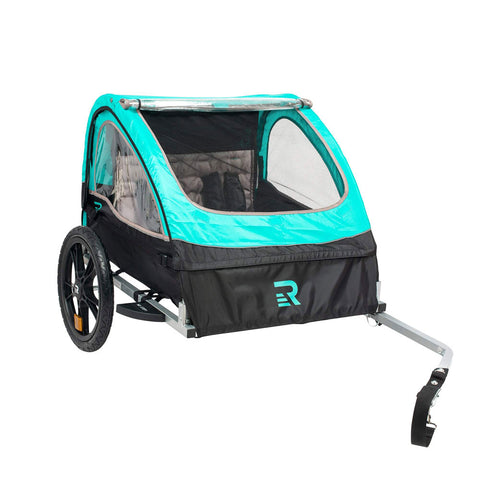 Rover Double Passenger Children's Bike Trailer