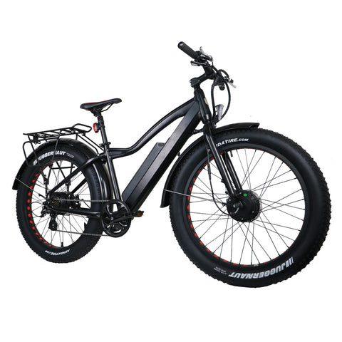 Fat tire AWD ebike